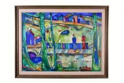 JOSE MARIA MIJARES Cuban 19212004 Painting