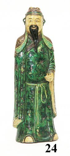 24: CHINESE QING DYNASTY FIGURE