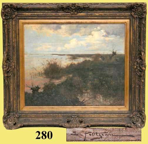 280: E. PETTITJEAN PAINTING