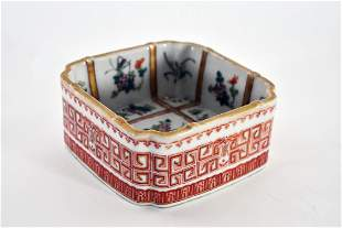 CHINESE FAMILLE ROSE DECORATED PORCELAIN BOWL
