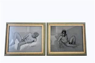 FRANZ JOSEF BOLINGER (American. 1903-1986)