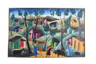 Y. LUNDY (Haitian. 20th Century)