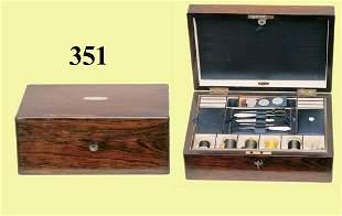 ANTIQUE ENGLISH SEWING BOX
