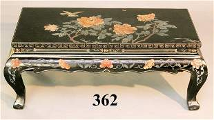 CHINESE PAINTED COCKTAIL TABLE