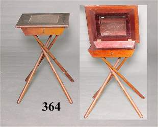 19th C BAMBOO SHAVING STAND
