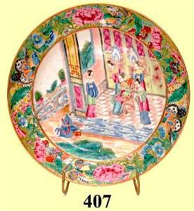 407: EXPORT  SHAPED PLATE