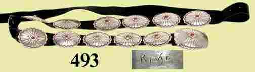 493: SILVER INDIAN BELT