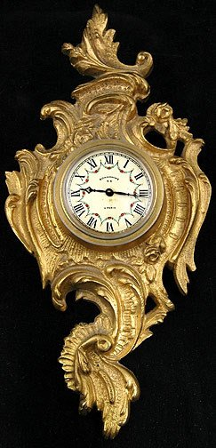 20: Small French Cartel Clock