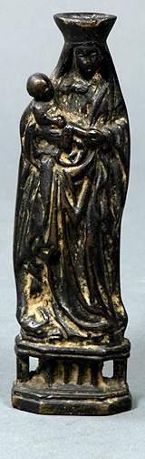 Bronze Madonna and Child