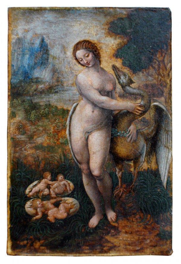193: SCHOOL OF LEONARDO DAVINCI (Italian. 1452-1519)