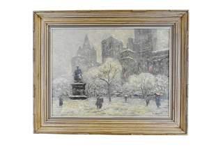 GUY WIGGINS (American. 1883-1962)