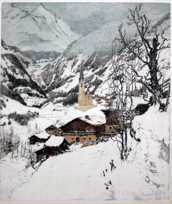 22: LUIGI KASIMIR (Austrian. 1881-1962)