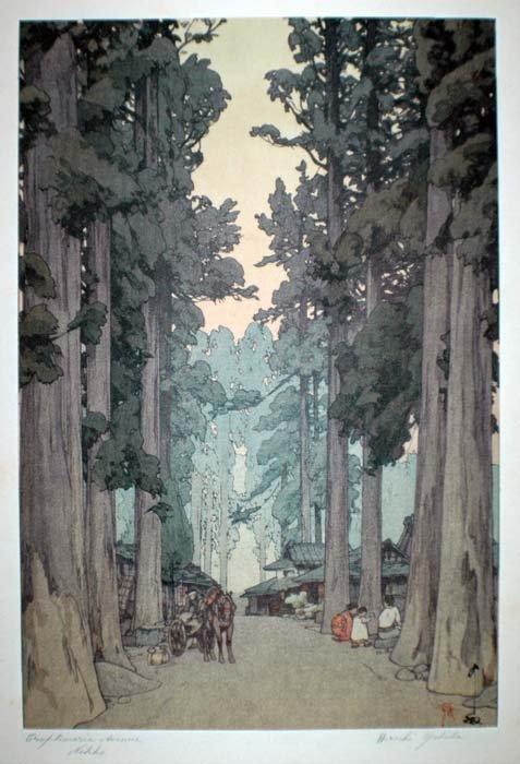 24: HIROSHI YOSHIDA (Japanese. 1876-1950)