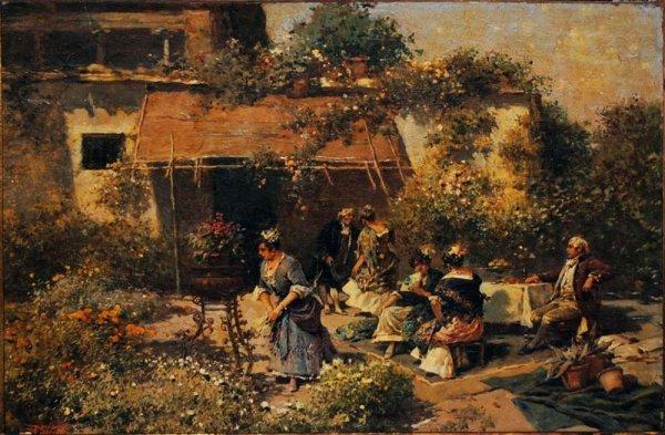 164A: RICCARDO PELLEGRINI  (Italian. 1863-1934)