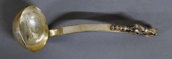 2: STERLING SILVER SAUCE LADLE