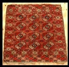 Red Turkoman Rug