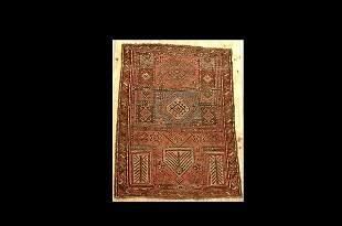 Semi Antique Northwest Persian Prayer Rug
