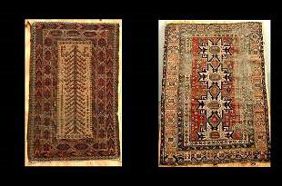 Two Rugs 1 Caucasian and 1 Beluchistan