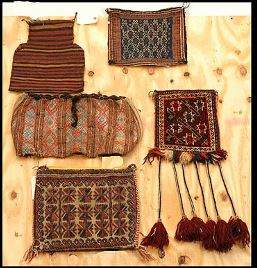 Lot of Five Saddle Bags