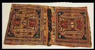 Antique Northwest Persian Double Bag