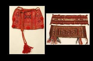 Two Afghanistan Saddle Bags