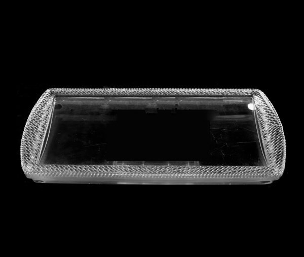 16: LALIQUE MOLDED, FROSTED & CLEAR BANGKOK CAKE PLATES