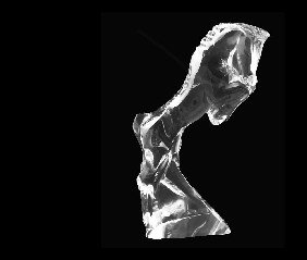 17: BACCARAT CRYSTAL FIGURE OF A REARING HORSE