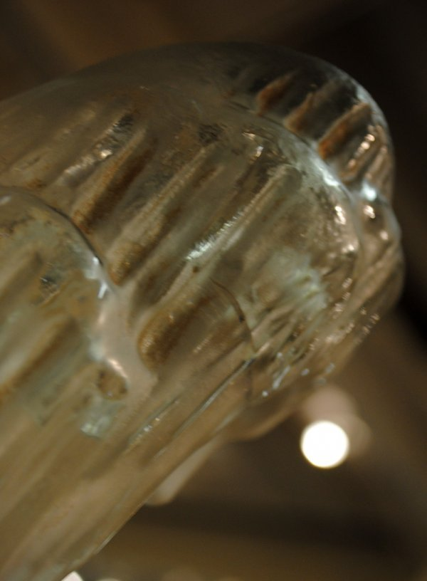 252: R. LALIQUE GLASS FIG. SOURCE DE LA FONTAINE CLYTIE - 5