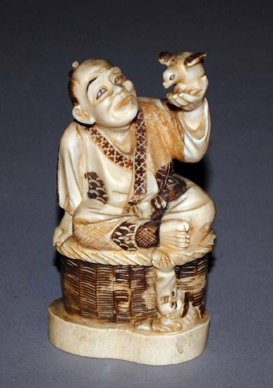 305: CARVED IVORY FIGURE