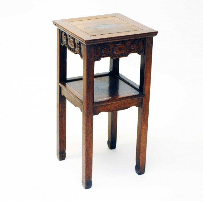 19: HONGMU STYLE TEAKWOOD SIDE TABLE