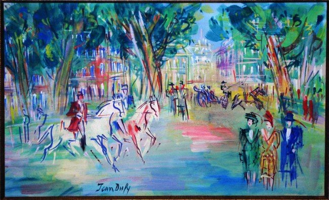 318: JEAN DUFY (French. 1888-1964)