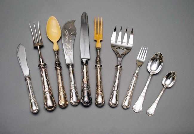 400: ONE HUNDRED, FIFTEEN PIECE CHRISTOFLE SILVER PLATE
