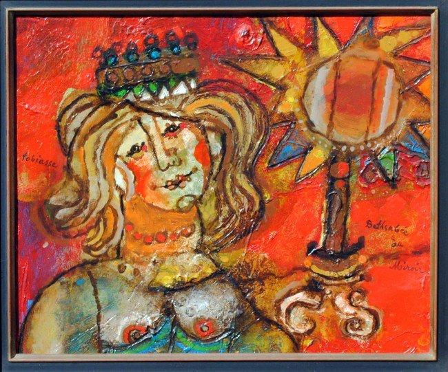 472: THEO TOBIASSE (Israeli. Born 1927)