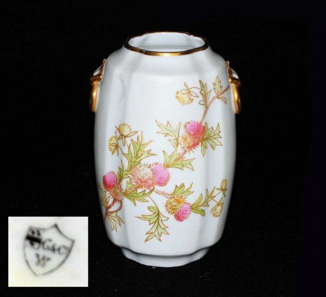 6: ENGLISH GRAINGER WORCESTER PORCELAIN VASE