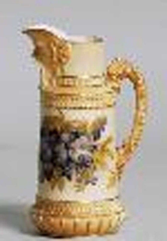 24: ROYAL WORCESTER PORCELAIN JUG