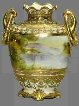 Antique Nippon Vase