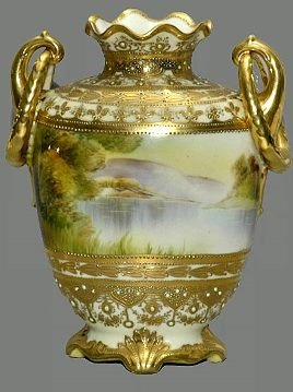 5: Antique Nippon Vase
