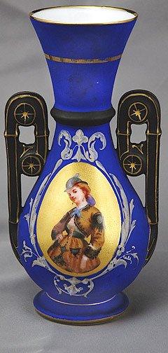 9: 19th Century French Portrait Vase