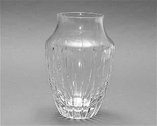 20th Century Atlantic Crystal Vase