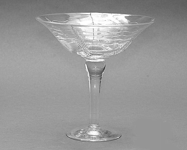 20: 20th Century Webb Crystal Compote