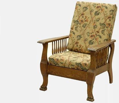 96: Vintage Oak Morris Chair