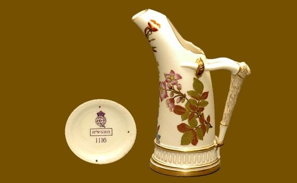 109: Royal Worcester Small Pitcher