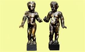 275: Pair of Italian Putti Figures