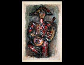 322: RENE PORTOCARRERO (Cuban. 1912-1986)