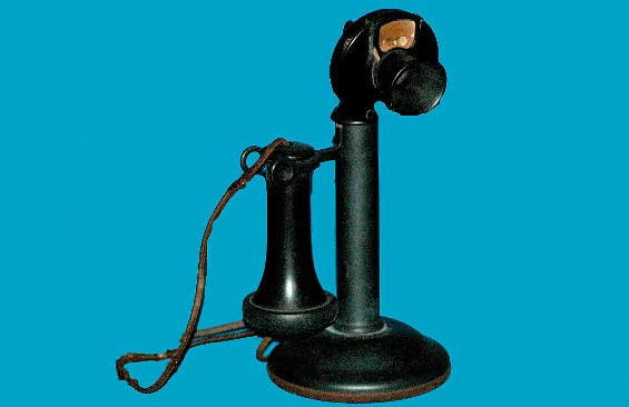 2: Antique Western Electric Candlestick Telephone