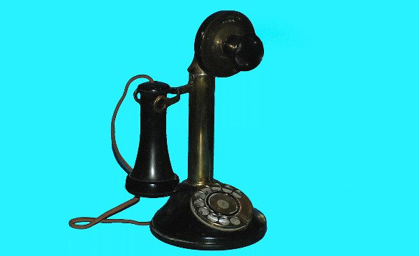 3: Antique Automatic Electric Candlestick Telephone
