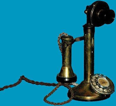 4: Brass Candlestick Telephone