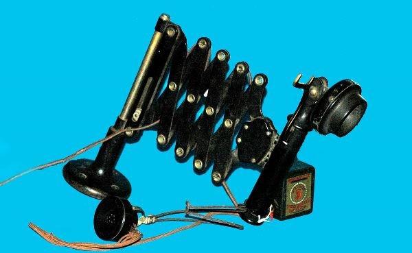6: Antique Scissor Gates Western Electric Telephone