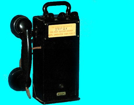 8: Antique Telephone Portable Pay Station