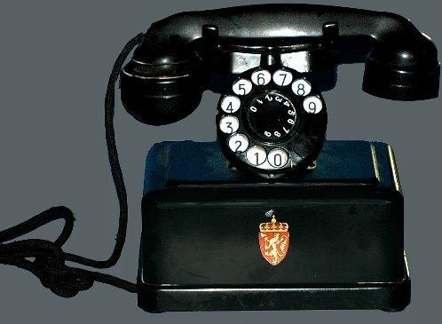 11: European Antique Cradle Square Base Telephone